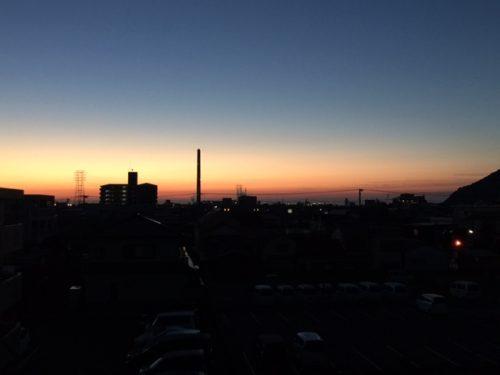 2月28日『日の出前・・・』